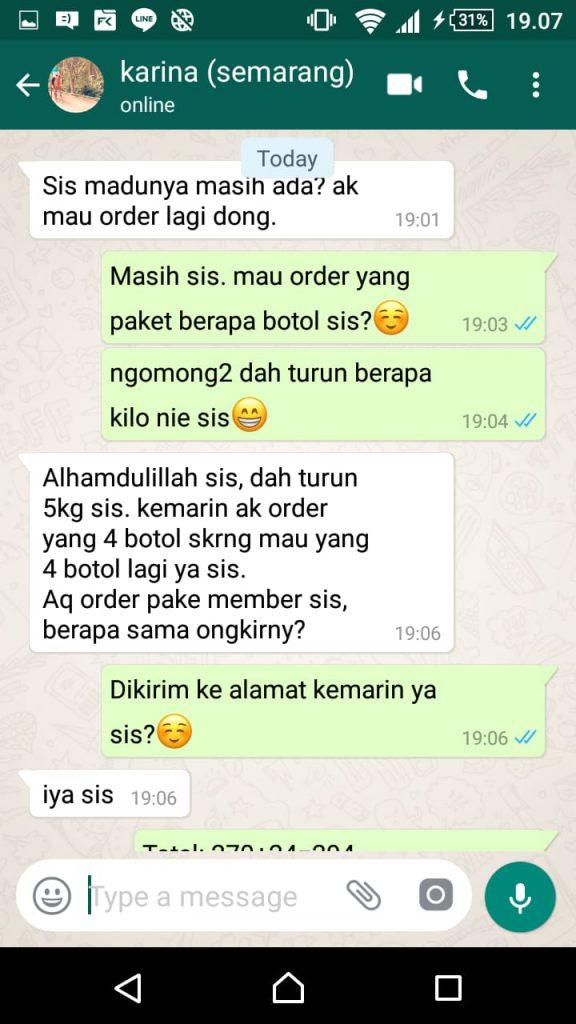 Jual Madu Diet Super Ultra Honey di Surabaya